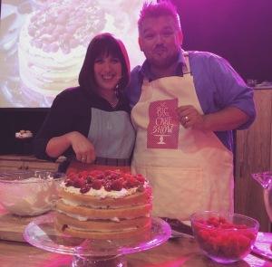 Cranachan Cake & Glenn